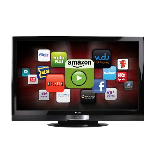VIZIO XVT323SV 32-Inch Full HD 1080p LED LCD HDTV with VIA Internet Application, Black (Old - Tv Ready Flat Screen Hd