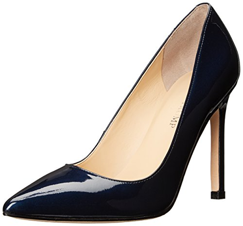 Ivanka Trump Women's Carra Pump, Navy Patent, 7.5 Medium US