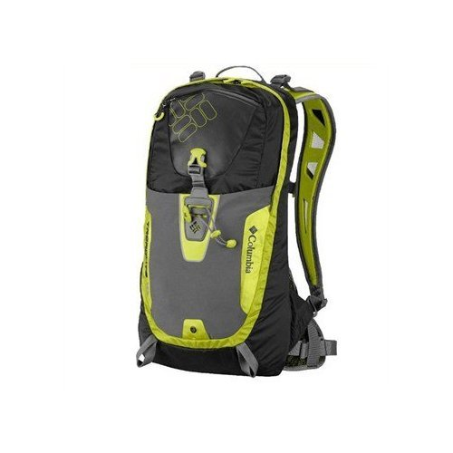 Columbia Treadlite 10 Backpack (Black/ Chartreuse, One Size), Outdoor Stuffs