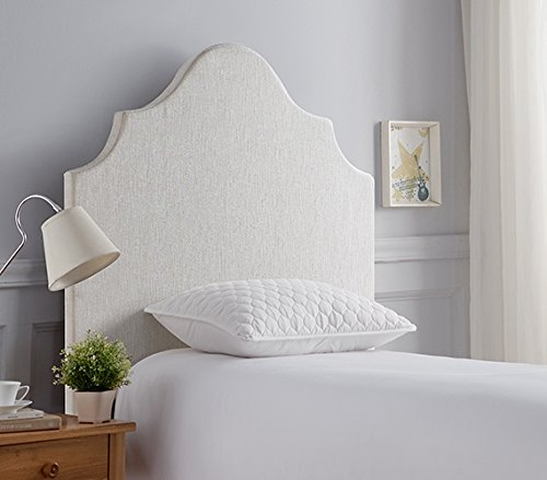 Beveled Double Curve DIY Headboard - College Bedding Headboard