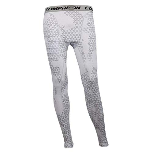 Vêtements Long Fitness Indoor Pantalon Fashion Sche Chaussettes Pour Blanc De Fonctionnel Formation Mesh Saoye Hommes Compression qx1v651w0