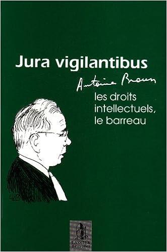 Book antoine braun, le barreau, les droits - braun/antoine braun, le barreau, les droits/intellectuels