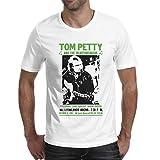 Men Tom-Petty- Fashion Soft Cotton Short-Sleeve Round Neck T-Shirts