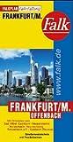 Frankfurt (Falk Plan) (English, German and French Edition)