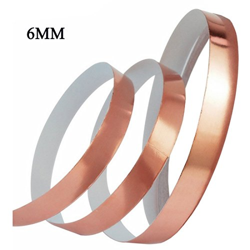 Rose Gold Foil Washi Tape(6mm X 30M)Wedding Washi Tape - ...