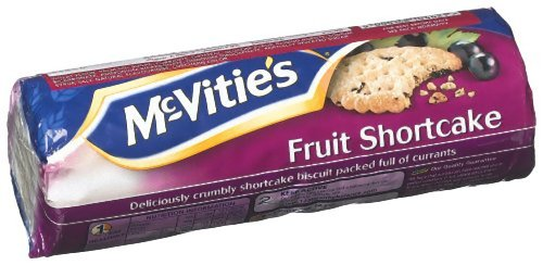 McVities Fruit Shortcake, 8.82-Ounce (Pack of 6)