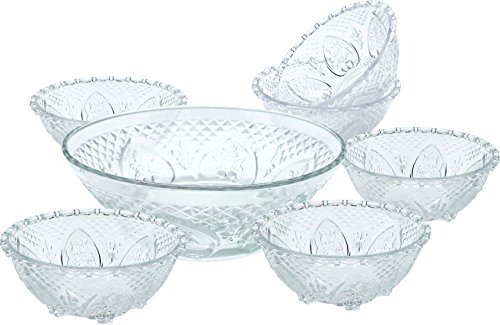 5 piece salad bowl set - 8