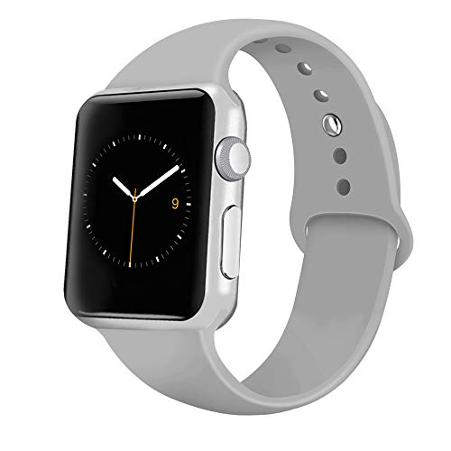 Top 10 best apple watch band 38mm silicone gray for 2020