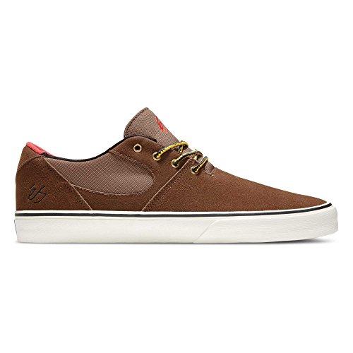 éS Footwear ES Accel SQ Scarpe–Nero, Marrone (Brown/Tan), 39.5 EU