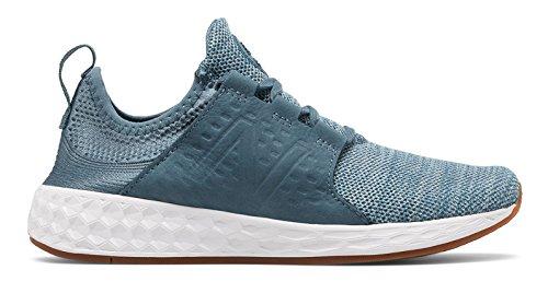 に関してアプライアンス労働(ニューバランス) New Balance 靴?シューズ レディースライフスタイル Fresh Foam Cruz Dark Porcelain Blue with Reflection ダーク ブルー US 5 (22cm)