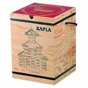 Building blocks coupler coupler 280 (Shiraki) + Design Book (intermediate, and red)> wooden box [parallel import goods] -  KAPLA, 20183202358815