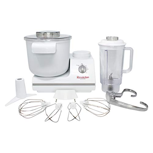 Electric Stand Mixer with Bonus Heavy Duty Blender and Attachments - German Design Bread Dough Mixer Machine
