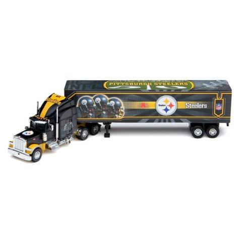 2006 Nfl Tractor Trailer (Pittsburgh Steelers 2006 NFL Peterbilt Tractor-Trailer)