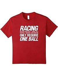 Racing - funny sports auto car motorcycle ski racing t-shirt