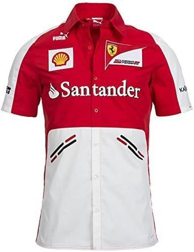 Scuderia Ferrari camisa de los patrocinadores del equipo, Puma, Fórmula 1, F1, colour rojo, Kimi Räikkönen, Fernando Alonso 761243-01 Talla:medium: Amazon.es: Deportes y aire libre