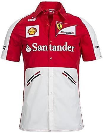 Scuderia Ferrari camisa de los patrocinadores del equipo, Puma ...