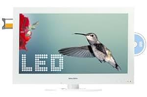 "Salora 24LED2015TDW 24"" Full HD Color blanco LED TV - Televisor (60,96 cm (24""), Full HD, 1920 x 1080 Pixeles, Digital, DVB-T, 3W)"