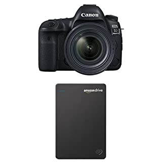 Canon EOS 5D Mark IV Full Frame Digital SLR Camera with EF 24-70mm f/4L IS USM Lens Kit with Seagate 1TB Hard Drive and 1-Year Amazon Drive (B01NAIHTCD) | Amazon price tracker / tracking, Amazon price history charts, Amazon price watches, Amazon price drop alerts