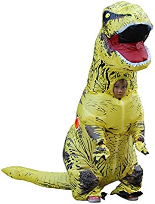 T-Rex Disfraz de Dinosaurio Inflable para niños – Disfraz de ...