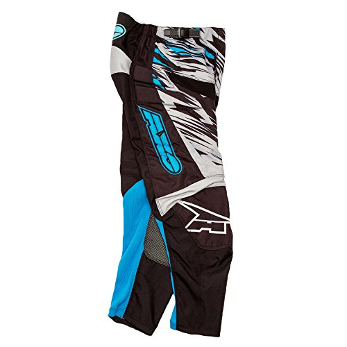 AXO Prodigy Junior Pants (Gray/Blue, Size (Axo Mx Socks)