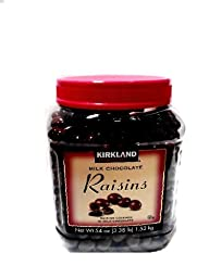 Signature\'s Milk Chocolate, Raisins, (3.4 Pound)(1.5Kg)