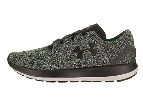 Under Armour Mens Speedform Slingride Tri Running Shoes (11 D(M) US, Black/HyperGreen/Black)