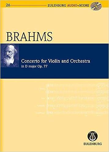 Violin Concerto in D Major Op. 77: Eulenburg Audio+Score Series