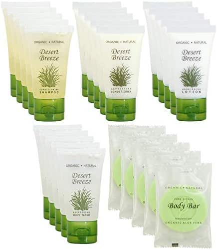 Desert Breeze | 1-Shoppe All-In-Kit | Hotel Size Amenities Set | Hotel/AirBnB/VRBO/Vacation Rental Soap Set | (150 pcs)