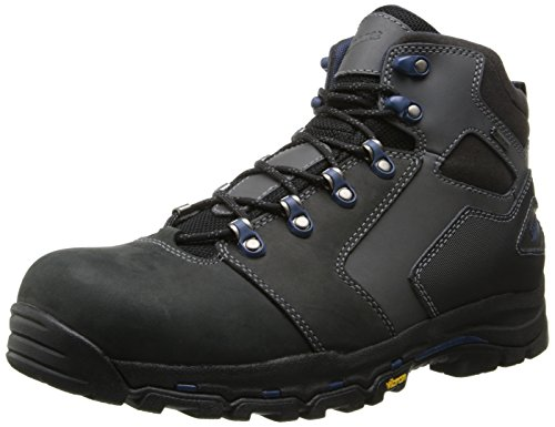 (Danner Men's Vicous 4.5 Inch NMT Work Boot,Black/Blue,11 D US)