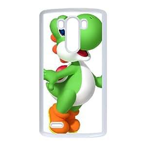 LG G3 Cell Phone Case White Super Smash Bros Yoshi LSO7931322