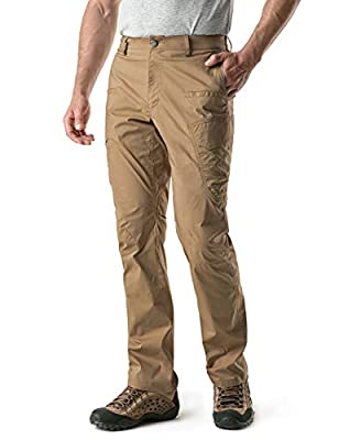CQR Men's Convertible Pants Zipp Off Stretch Durable UPF 50+ Quick Dry Cargo Shorts Trousers TXP402/TXP401