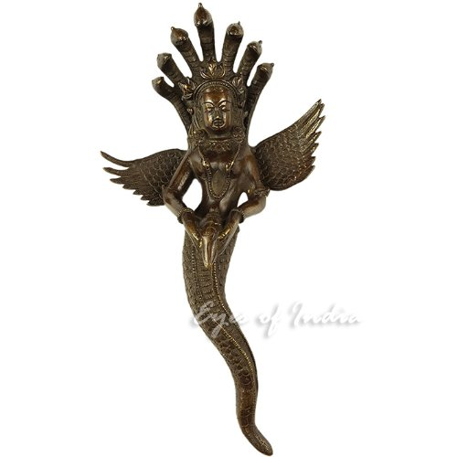 EYES OF INDIA Naga Serpent Wall Hanging Sculpture by Eyes of India (Image #3)