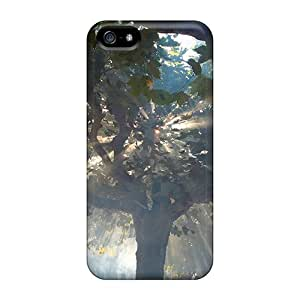 High Quality Phone Cover For Iphone 5/5s With Customized Nice Magic Tree 2 Skin DannyLCHEUNG