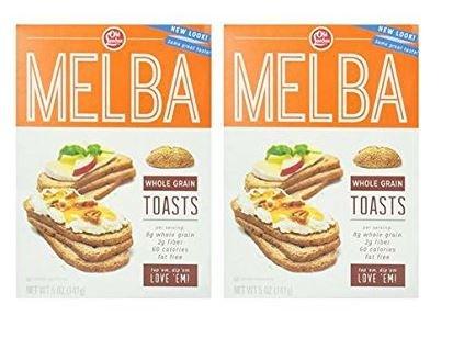 Old London Melba Whole Grain Toast 5 oz (2 -