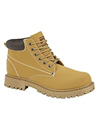 Dek Mens Oasis 6 Eye Padded Collar Boots