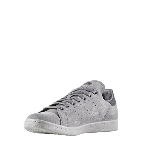 ... Adidas Menns Originaler Stan Smith Sneaker Grå / Grå / Grå ...