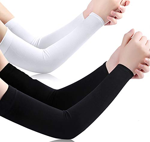 UV Protection Cooling Arm Sleeves Sun Sleeves Arm Cover for Women &Girls&Adult&Youth&Men Cycling, Running,Golf, Driving,Basketball, Football & Outdoor Activities Tattoos Arm Warmer