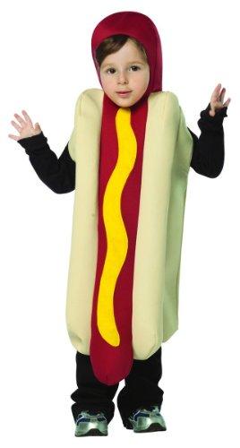 [Rasta Imposta Hot Dog, Multi, 3-4T] (Hot Dog Baby Costumes)