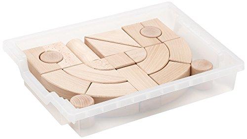 Erzi German Wooden Toy Building Blocks Box 3, 44.5 x 33.5 x 11cm by Erzi