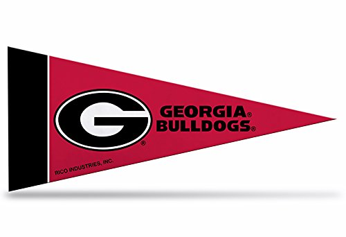 Zipperstop Officially Licensed University Of Georgia Bulldogs NCAA Mini Pennant, 4