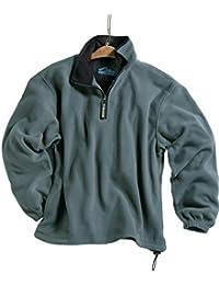 Men's 100% Polyester Anti-Pilling Micro Fleece 1/4 Zip Escape Pullover (6 Color)