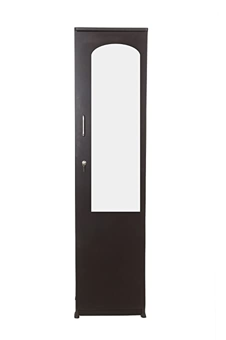Single Door Wardrobe with Mirror And Drawer: Amazon.in: Home & Kitchen