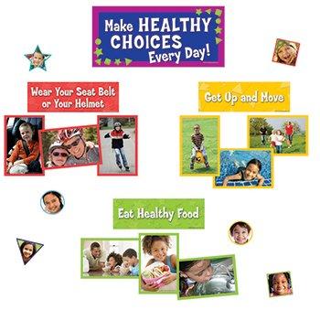 Make Healthy Choices Mini Bulletin Board