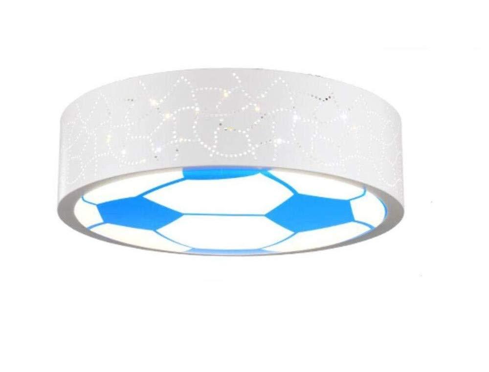PANNN Kinderzimmer Lampe LED Deckenleuchte für Jungen und Mädchen und einladende Zimmer Licht Energie cartoon Licht Fußball eye care Kinder Lampen (400mm90mm), weißes Licht