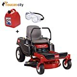 Toucan City Toro TimeCutter SS3225 32 in. 452cc Zero-Turn Riding Mower with Smart Speed 74710 Gas Can and Safety Goggles