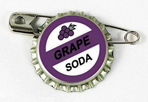 Cap Pin Inspired by Up (Grape Bottle)