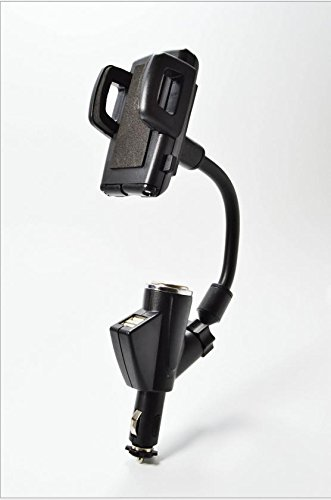 2 en 1 Dual USB cargador de coche soporte de mechero con Sar ...