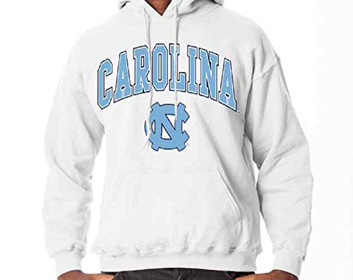 - North Carolina Tar Heels Arch & Logo Gameday Hooded Sweatshirt - White