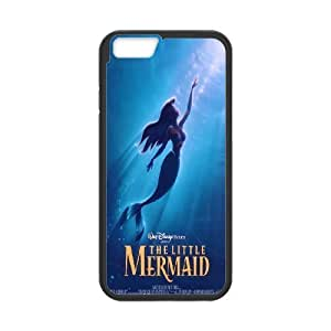 "Hot case The little mermaid Hard Plastic phone Case Cover For Apple Iphone6/Plus5.5"" screen Cases XFZ394101"