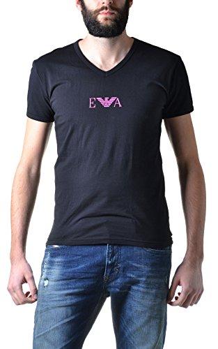 Emporio Armani Men's Stretch Cotton T-Shirt Black X-Large